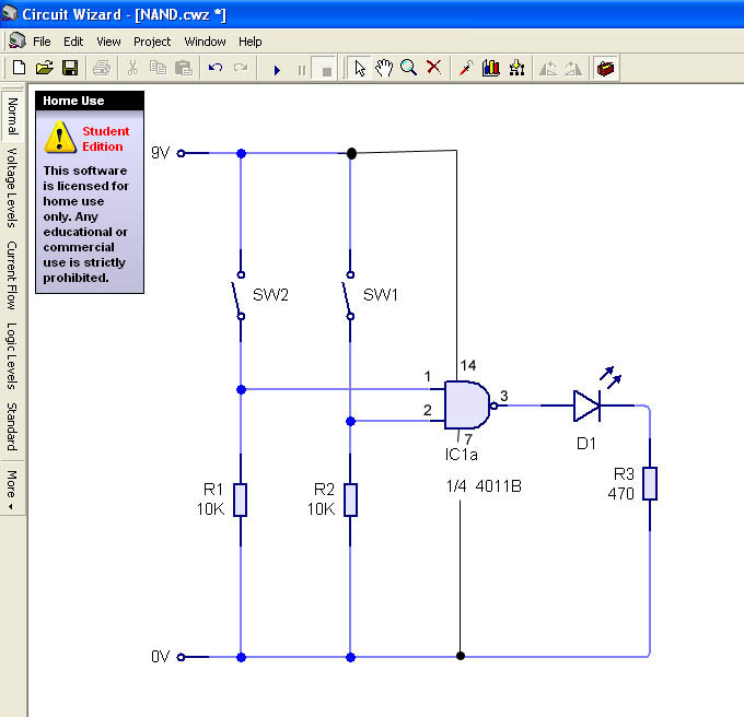 Returning to logic gates design and technology for Circuit nand