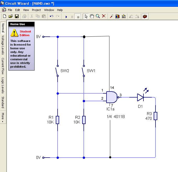 how to draw logic gates