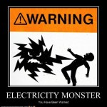 electricity monster