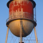 Water tower - Shell